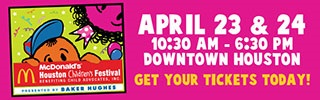 Blog Give-away! Win Houston Children's Festival tickets!