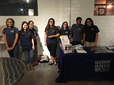 Houston Humane Society reps.