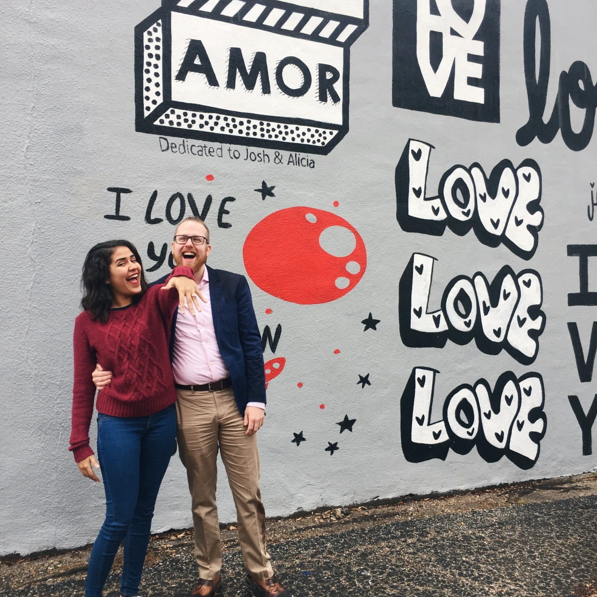 Houston's #ILoveYouWall- Graffiti Tour Proposal