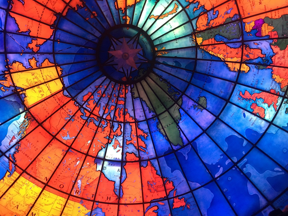 Massachusetts Series- The Mapparium- SireneWorld